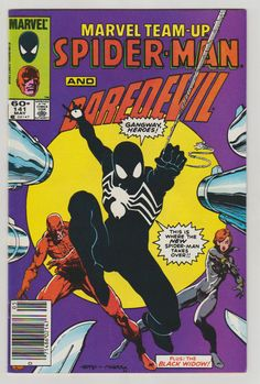 Marvel Team-Up V1 141. NM.  May 1984.  Marvel by RubbersuitStudios