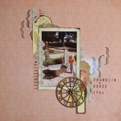 Paper and Pins. my handmade journey: Kaisercraft 'Remember Me' Collection My Scrapbook, Scrapbook Layouts, Franklin Homes, Vintage World Maps, Journey, Scrapbooking Ideas, Paper, Clever, Projects