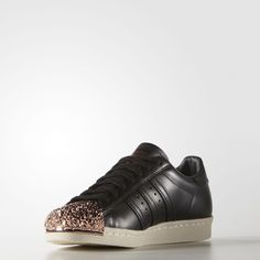 innovative design 8643e 85ab1 Bestellen Online Adidas Superstar 80s Black Trainers NO.S76535