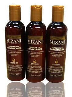 """Mizani Supreme Oil Ultra-Light Moisturizing Conditioner 8.5oz """"Pack of 3"""" by MIZANI. $35.95. Mizani Supreme Oil Ultra-Light Moisturizing Conditioner 8.5oz """"Pack of 3"""". Ultra-light formula, does not weigh hair down even on finer hair types Detangles and helps condition the hair inside and outside with a unique blend of penetrating Avocado and Olive, surface-coating Jojoba Oils along with strengthening Panthenol GRich in nourishing fatty acids and paraben, miner..."""