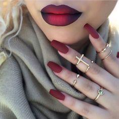 Ombré  ❤️ cc: @glambymeli #iluvyourhair #ilyh #beat #mua #beautiful #makeup #fierce #skin #eyes #lips #face #eyeliner #glam #iluvmakeup #cosmetology #lashes #makeuplove #pretty #mac #sephora #makeuplove