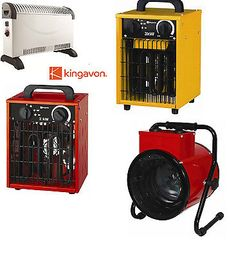 KINGAVON 2KW 3KW INDUSTRIAL CONVECTOR WORKSHOP GARAGE ROOM HEATER BLOWER in Heaters | eBay