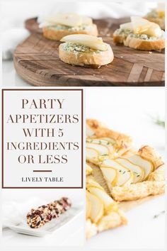 Make holiday entertaining a breeze with these easy party appetizers with 5 ingredients or less! Yummy Appetizers, Appetizers For Party, Appetizer Recipes, Pleasing Everyone, Fall Recipes, Pumpkin, Healthy, Easy, Food