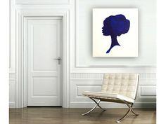 Silhouette Such a Lady I & II   Modern by BreFrandsenStudio, $250.00