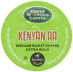 Green Mountain Coffee Kenyan AA, K-Cup Portion Pack for Keurig Brewers 24-Count - http://hotcoffeepods.com/green-mountain-coffee-kenyan-aa-k-cup-portion-pack-for-keurig-brewers-24-count/