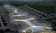 Foster e SOM divulgam projeto para novo aeroporto mexicano - Arcoweb