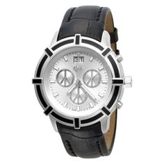 Love Peace and Hope Midsize LPE07 Time for Peace Black Chronograph Watch Love Peace and Hope. $295.00. Precise Swiss-quartz movement. Case diameter: 44 mm. Stainless-steel case; mother-of-pearl dial; day function; chronograph functions. Water-resistant to 330 feet (100 M). Scratch-resistant-sapphire crystal