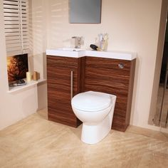 The time less appeal of Walnut finish makes this space saving combination pack an absolute compliment for the smaller bathroom en suite or cloakroom. For extra customer satisfaction we are offering a choice of different toilet pans with this suite! Please see further information below.