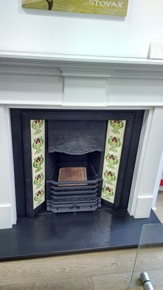 Fireplace tiles - possibility