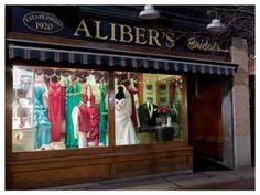 Aliber's Bridal - since 1920! A full service Bridal Salon.
