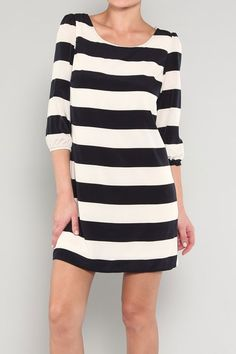 STRIPES!  Do you have what it takes to be stylish at a moments notice? Check out which item is a must in a women's closet: http://fashmagsbypamm.blogspot.com/2013/06/the-little-black-dress.html