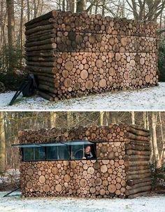 Deer blind, safe house?