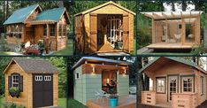 Now You Can Build ANY Shed In A Weekend Even If You've Zero Woodworking Experience!Start building amazing sheds the easier way with a collection of shed plans!If you're planning to build a shed you need to see this. Big Sheds, Free Shed Plans, Simple Shed, Shed Building Plans, House Building, Storage Shed Plans, Wooden Sheds, Shed Homes, Shed Design