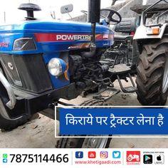 किराये पर ट्रैक्टर लेंना है बहुत ही आसान, अपने नजदीकी क्षेत्र में किराये के ट्रैक्टरों की की खोज करे खेतीगाड़ी ऍप से और पाए किराये के ट्रेक्टर वो भी उचित दाम में - #TractorOnRent #TractorPrice #TractorBrand #KhetiGaadi