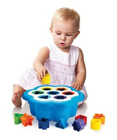 Another great find on #zulily! Daisy Shape Sorter by Quercetti #zulilyfinds