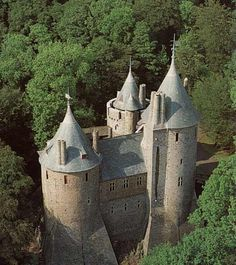 The Castell Coch, Wales