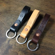 Simple Leather Key Keeper by KochLeather on Etsy