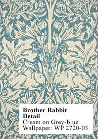 Brother Rabbit Wallpaper by William Morris