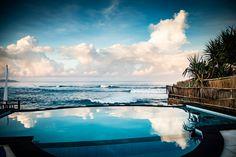 Infinity Pool on Isla Lembongan, Bali, Indonesia