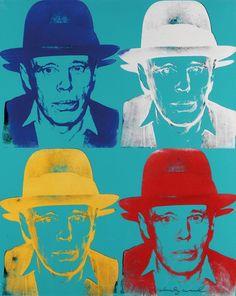 Andy Warhol, Joseph Beuys, 1980