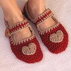 """Mary Jane"" Slippers Crochet Pattern PDF,Easy, Great for Beginners"