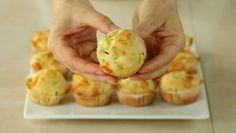 MUFFINS SALATI zucchine e Provola Ricetta Facile – Savoury Muffin with Zucchini and Provolone Recipe