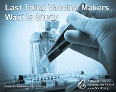 """Alyona Motkina asks """"If the Centers for Disease Control and Prevention and the government would conduct a long overdue study comparing the health of vaccinated children with unvaccinated children, much of the controversy surrounding this issue could disappear. One must ask: Why hasn't this been done?"""""""