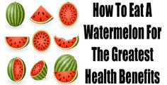 How to Eat A Watermelon For The Greatest Health Benefits -    A watermelon would grow inside your belly if you swallow a watermelon seed, parents told you that when you were a kid. It was a joke that I guess elders liked to do. But because of that harmless joke, you most likely spit out quite a lot of the watermelon seeds. Its a shame that I spit out...