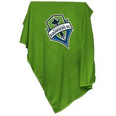 cheaper 6c556 77dc9 Logo Brand Seattle Sounders Sweatshirt Blanket. Portland TimbersMls  SeattleFan GearHouston ...