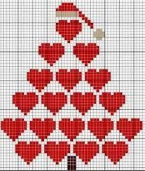 Resultado de imagem para sino de natal bordado em pontos livres