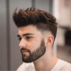 Popular 2018 2019 Hairstyle Haircut Ideas For Men S Best Fade Haircuts For Men Swag Hairstyles, Faux Hawk Hairstyles, Popular Mens Hairstyles, Hairstyle Ideas, Office Hairstyles, Anime Hairstyles, Stylish Hairstyles, Hairstyle Short, School Hairstyles