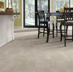 choose a floor that helps you stay with the trends.  ivcfloors.com Dulcinea 590