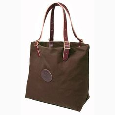 DULUTH PACK Brown XLarge Market Canvas & Leather Tote Bag NWT NEW FREE SHIP  #duluthpack #TotesShoppers #madeinusa