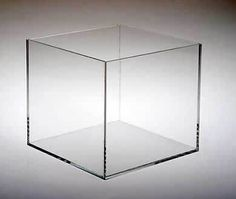 5 Sided Acrylic Cubes ... use it as a riser or put it on its side and use it to spine-out books in a display. Group them as containers for small items. Available from ClearDisplays.com.