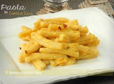Pasta in Crema di Zucca