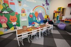WINGS Domestic Violence Center's New Playroom