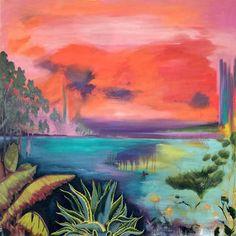 "Saatchi Art Artist Chelsea Owens; Painting, ""Afterglow"" #art"