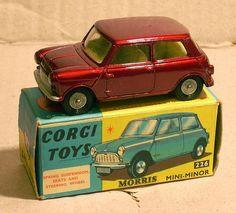 Corgi 226 Morris Mini Minor