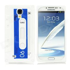 Quantity: 1 Piece; Color: White + blue; Material: Silicone; Compatible Models: Samsung Galaxy S4 / i9500; Other Features: Protects your cell phone from dust, shock and scratches; Packing List: 1 x Back case; http://j.mp/VIKJoI