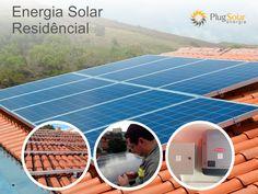 Sistema energia solar fotovoltaica #sistemaenergiasolar #energiafotovoltaica#plugsolar