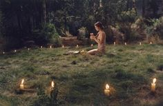 Vanessa Paradis was playing a witch in this movie. This scene was so unforgettable.