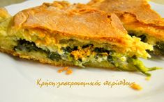 Spinach Pie, Greek Cooking, Spanakopita, Greek Recipes, Dessert Recipes, Desserts, Oven, Food And Drink, Appetizers