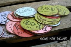 Reading rewards-- a great idea to share with parents!