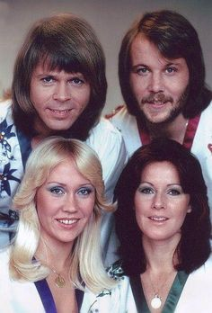 ABBA. Loved this group. Their music was always in the charts throughout the 70's and is very much part of my childhood memories.