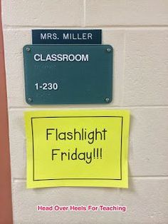 Motivation to read pin 3. Flashlight Friday! Each student is given a flashlight and they can read their books in the dark with a flashlight. It is a fun way to get students interested in reading silently.