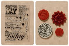 """I have a """"thing"""" for doilies.  These stamps are very pretty..."""