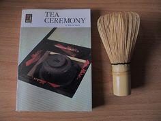 """Lovely book """"Tea Ceremony"""", from1975 by Iguchi, Kaisen on http://teatra.de member Bram's post:"""