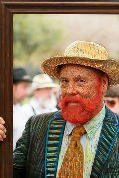 Van Gogh; how clever!