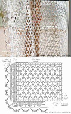 Crochet Stitches Chart, Crochet Doily Diagram, Filet Crochet, Irish Crochet, Crochet Doilies, Crochet Patterns, Crochet Art, Crochet Bunny, Crochet Hooks