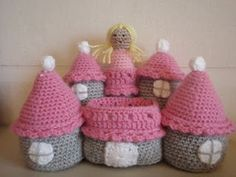 Princess with Castle Is a must with 3 little girls :)